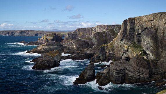 Cliffs at Mizen Head, Co Cork