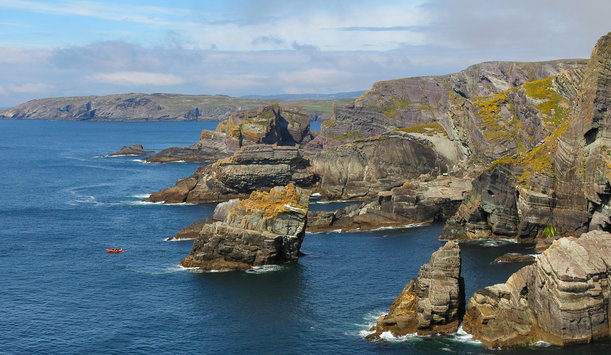 Mizen Head, County Cork provided by Captblack76