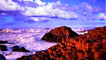 The stunning Giant's Causeway
