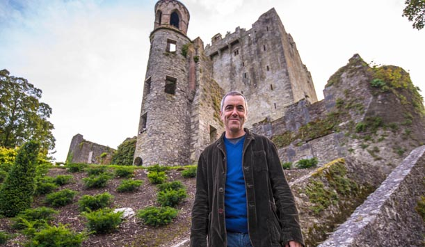 Another castle visit for James provided by ITV