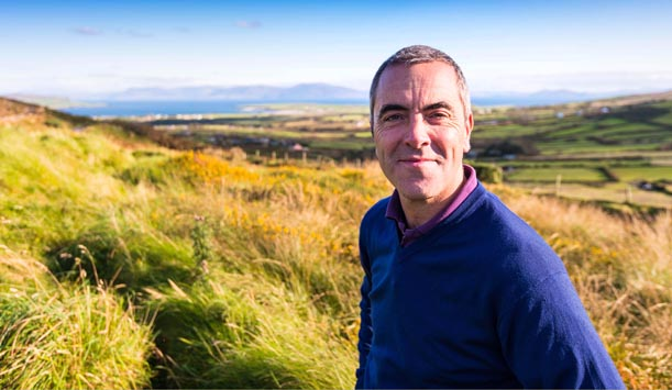 James Nesbitt continues his visit to Ireland provided by ITV