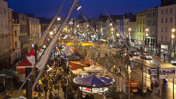 Cork City's Christmas Market