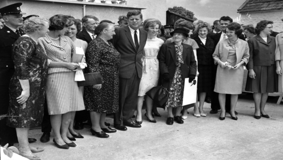 JFK in New Ross, Co Wexford