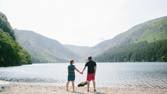 Glendalough Lake, County Wicklow