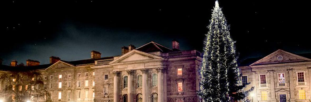 Christmas in Dublin (Trinity College