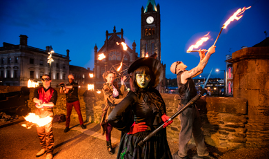 Festival Derry Halloween (octobre)