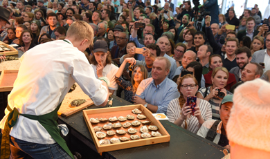Galway Oyster and Seafood Festival (september)