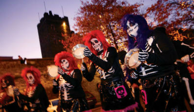 Banks of the Foyle Halloween Carnival (October)