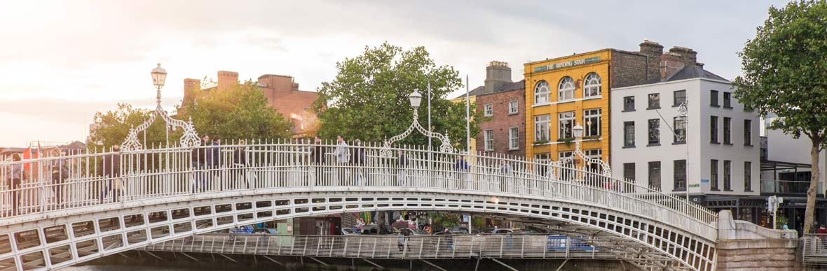 The Hapenny Bridge