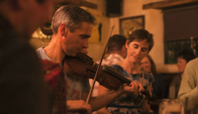 1. Listen to trad in Galway