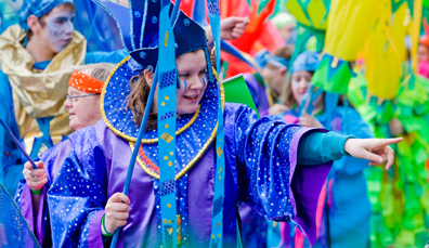St Patrick's Day Carnival and Parade di Belfast