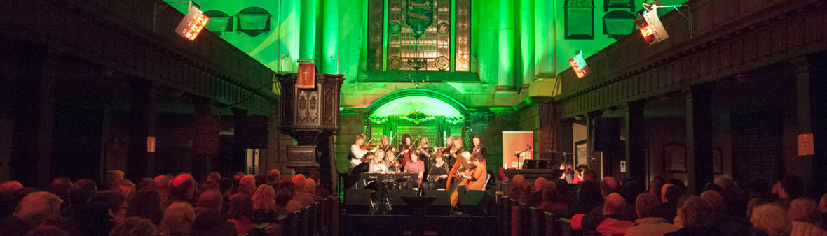 Tradfest in Werburgh Street Church (Dublin stad)