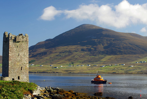 The Tower at Kildavet, Achill Island
