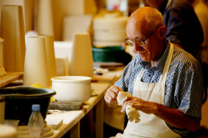 Beleek pottery making in practise