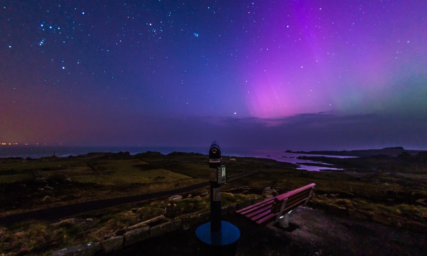 lugares del mundo para ver las estrellas Kerry, Irlanda