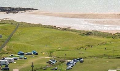 Rosguill Holiday Park am Melmore Head in Donegal