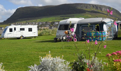 Strandhill Caravan Park in Sligo