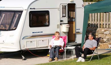 River Valley Caravan Park, Wicklow