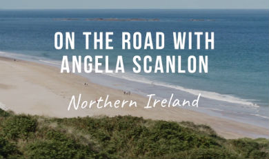 Angela Scanlon in Northern Ireland