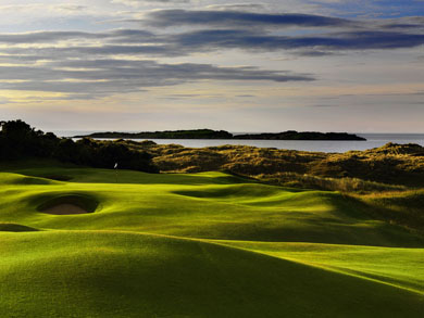 Discover Northern Ireland's magnificent golf courses!