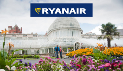 Fly with Ryanair from Gothenburg