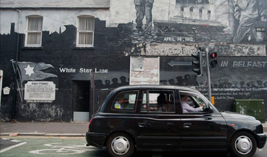 3. Belfast Black Taxi Tour