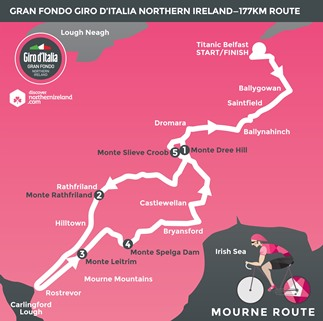 Mourne route