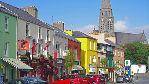 "Le strade di Clifden, ""Capitale del Connemara"""