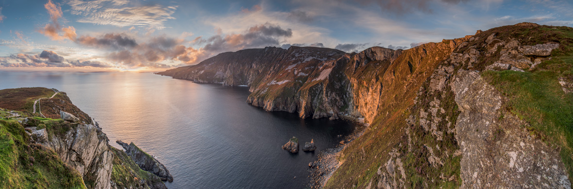 Falaises de Slieve League, comté de Donegal