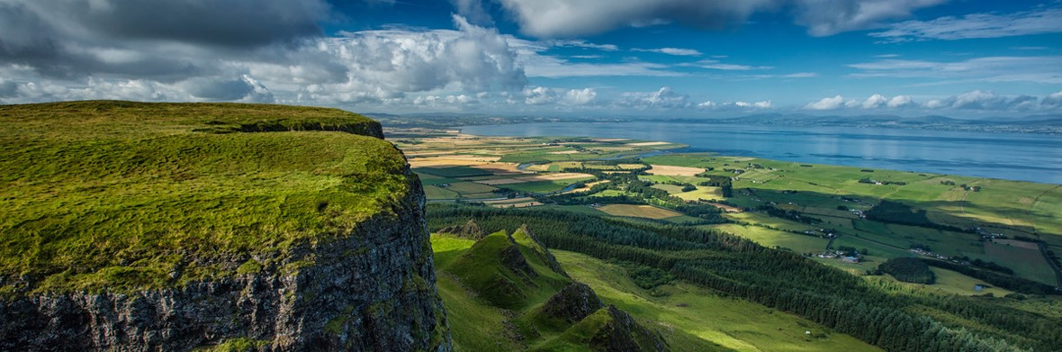 Binevenagh in Irlanda del Nord