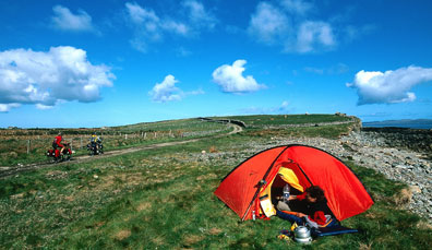 Caravanning and camping in Ireland