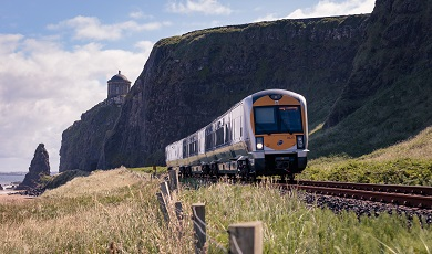 Ride on public transportation along the Causeway Coast