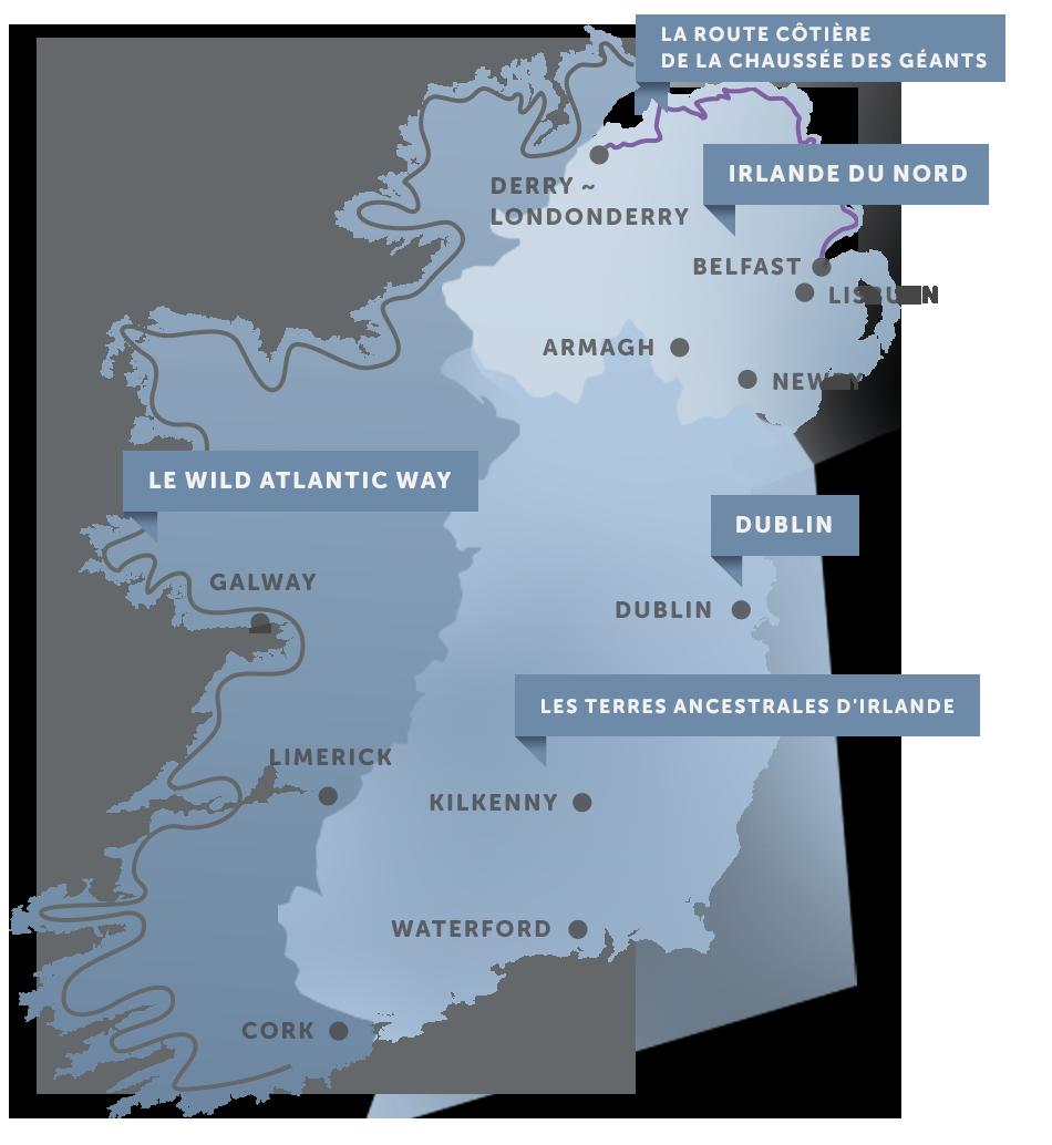 office de tourisme de l'ile d'irlande a paris
