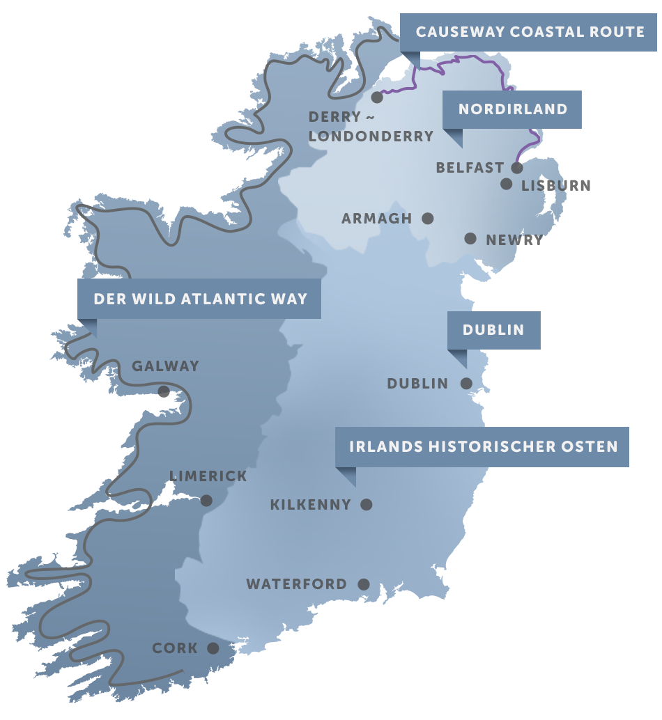 Islands National Park Map