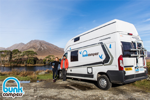 Ireland Campervan Hire from approx. $80 per night