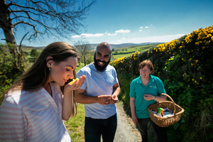 Get a taste of Ireland on the Food and Mindfulness Tour at Bradkeel  Butterlope Farm in Omagh for 90 per person