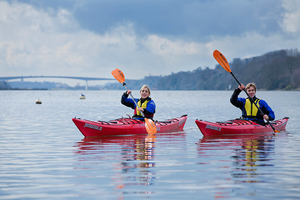 Journey down the River Foyle and enjoy a camping adventure in the Walled City DerryLondonderry for 179 per person
