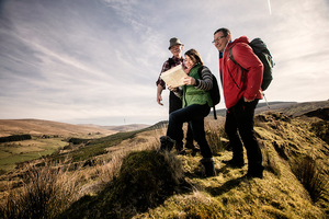 Take an authentic Irish Walking Tour through the Sperrin Uplands  treat yourself to an overnight stay at White Horse Hotel for 13750 pp
