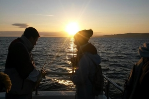 Go seafishing in Portrush at sunrise and catch your breakfast with Causeway Coast Foodie Tours for 55 pp