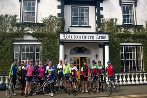 Cycle the Causeway Coast and stay overnight at The Londonderry Arms Hotel in Ballymena  Includes accommodation breakfast and dinner  From 75 pppn