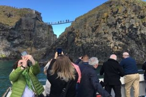 Giants Causeway  CarrickARede Rope Bridge Private Sea Safari trip for up to 12 people for 350