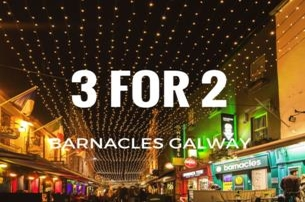 Experience Galway with 3 nights for the price of 2 at Barnacles Hostel Galway