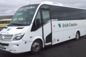 Sit back and enjoy a private coach tour for groups of families and friends in a luxury minicoach with Irish Coaches from 1000