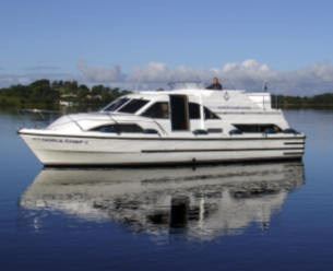 Be a Captain and explore Lough Erne with Manor House Marine for 5 nights on a luxury 68 Berth Charter Boat from 1075