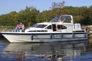 Step on board and command a voyage of Lough Erne on a luxury 68 Berth Charter Boat in April with Manor House Marine from 1237