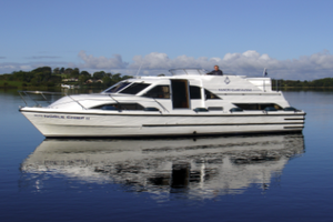 Explore Irelands Waterways with Manor House Marine on a 46 Berth Charter Boat in April from 1030