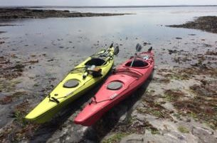 Take to the water for an Island Exploration Tour off the County Clare coast with North Clare Sea Kayaking for 90 per person