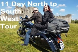 Buckle up and take on an 11 Day North to South Western Motorcycle Tour with Celtic Rider Tours from 4270