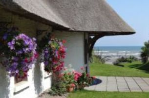 Enjoy a luxury Autumn seaside escape at The Cottages Ireland County Meath for 300 pps