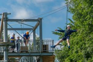 Bond together as a family and enjoy a day in the outdoors at SKYTrek in Belfast with Colin Glen Forest Park  Adventure Centre for 30 per family of 4